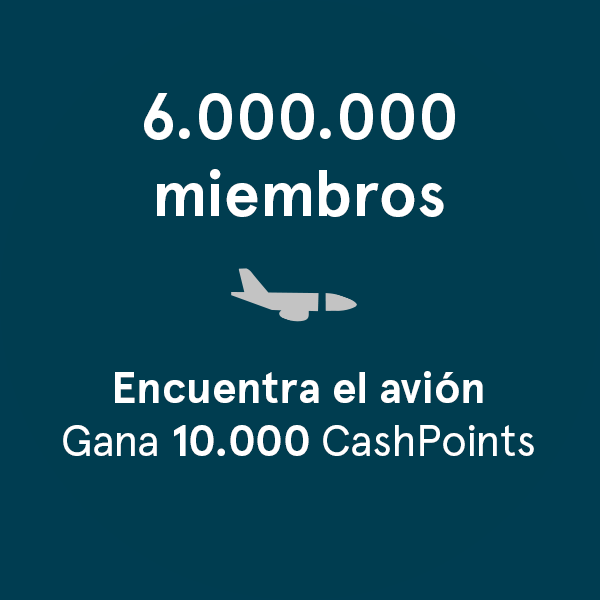 Plane Spotting. Win 10,000 CashPoints competition banner